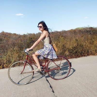Велопрогулки с GoPro