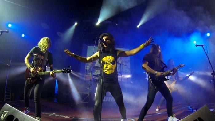 съемка концерта музыкальной группы на gopro