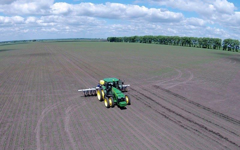 аэросъемка аграрной техники в Украине