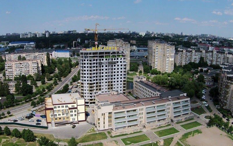 съемка с воздуха объектов строительства
